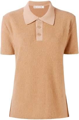Marni short sleeved polo top