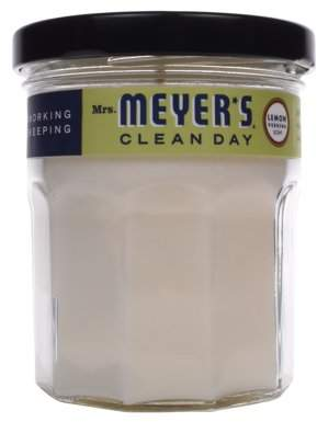 Mrs. Meyer's Clean Day Soy Candle, Lemon Verbena, 4.9 oz