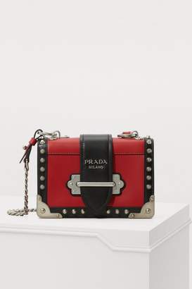 Prada Mini Cahier crossbody bag