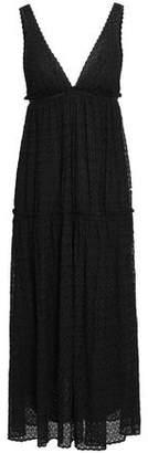 Missoni Ruffle-trimmed Crochet-knit Midi Dress