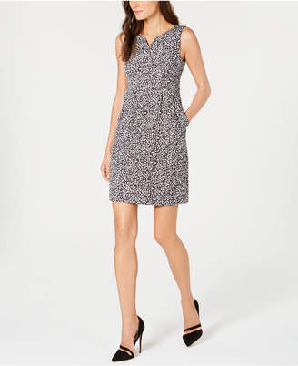 Nanette Lepore Animal-Print Sheath Dress