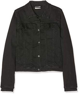 Name It Girl's Nkftaffy DNM Jacket 7079 Black Denim