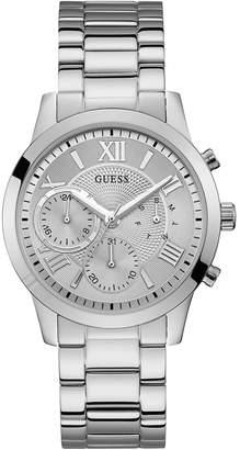 GUESS W1070L1 Solar Silver Watch