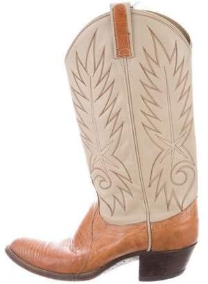 Dan Post Mid-Calf Western Boots