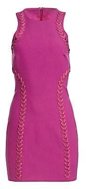 Cinq à Sept Women's Alison Sleeveless Laced Mini Dress