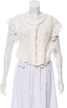 Philosophy di Lorenzo Serafini Crochet Knit Vest