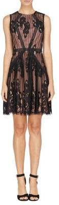 Adelyn Rae Trina Woven Lace Fit-&-Flare Dress