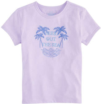 Vineyard Vines Girls Seek Out the Sea Vineyard Ringer Tee