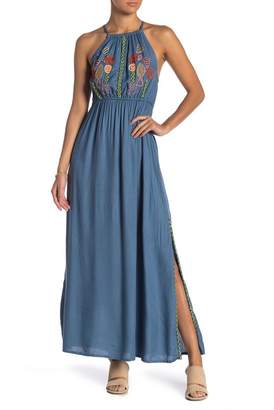 Raga Lucita Embroidered Maxi Dress