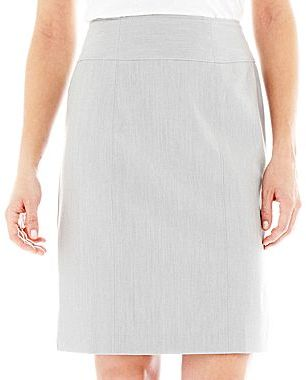 JCPenney Worthington® Modern Seamed Skirt