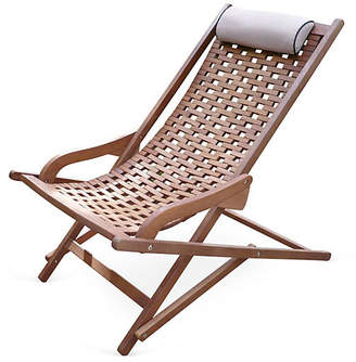 One Kings Lane Eucalyptus Outdoor Swing Lounger