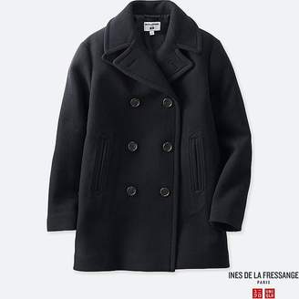 Uniqlo Women's Wool-blend Peacoat (ines De La Fressange)
