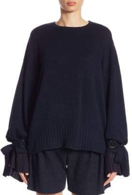 Mother of Pearl Nash Tie-Sleeve Pullover