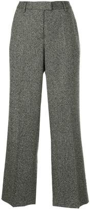 Incotex flared suit trousers
