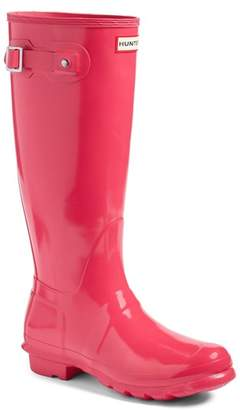 Hunter High Gloss Rain Boot