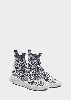 Versace Anatomia Sock Sneakers - Checkerboard