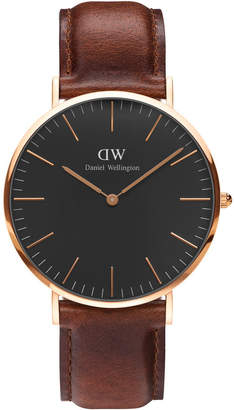 Daniel Wellington DW00100124 Classic St Mawes Rose Watch