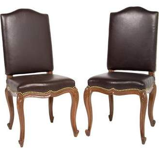 Brown Leather Dining Chairs Shopstyle Canada
