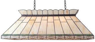 Tiffany & Co. Emporium Cream Rectangular Geometric Pendant Light