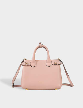 Burberry Small Banner Bag in Pale Orchid Grained Calfskin