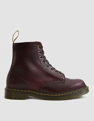 Dr. Martens Made in England 1460 Pascal 8-Eye Boot in Burgundy