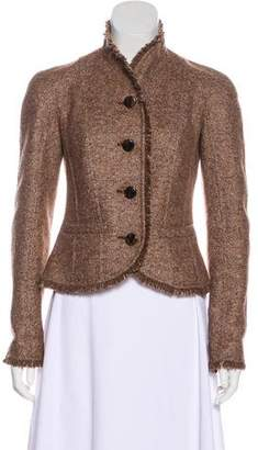 Christian Dior Wool & Mohair-Blend Jacket