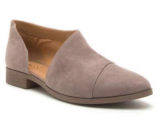 Qupid Womens Tuxedo-68 Flat Heel Slip-on Booties