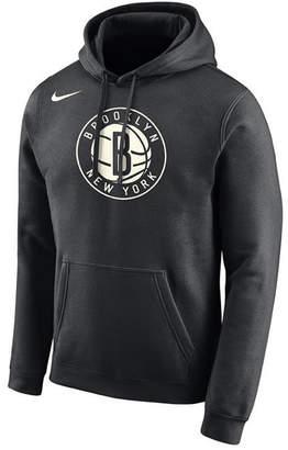 Nike Men's Brooklyn Nets Essential Logo Pullover Hoodie