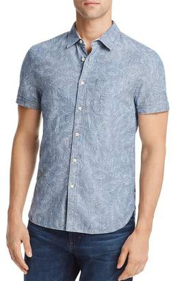 AG Jeans Pearson Printed Leaves Regular Fit Button-Down Shirt
