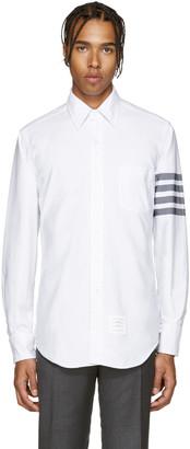 Thom Browne White Oxford Shirt $570 thestylecure.com