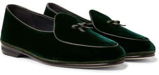 32b35c37bb7 Rubinacci Marphy Velvet Tasselled Loafers