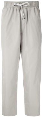 À La Garçonne elasticated waist trousers