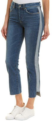 7 For All Mankind Seven 7 Edie Mojd High-Rise Crop Straight Leg