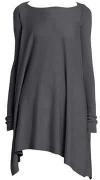 Rick Owens Women's Cashmere Convertible Poncho Top - Blue Jay - Size Medium