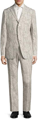 John Varvatos Austin Angled Pocket Suit