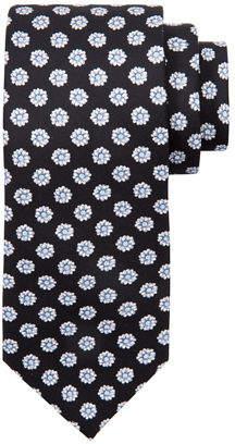 Stefano Ricci Medium Flower Printed Silk Tie