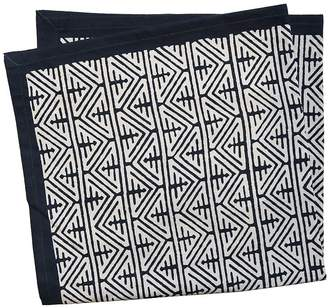 L&M Home Cairo Indigo Napkin (Set of 4)