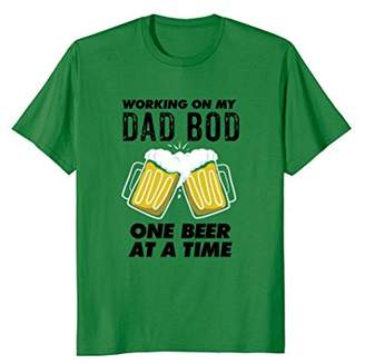 Working On My Dad Bod Funny Dad Bod T Shirt
