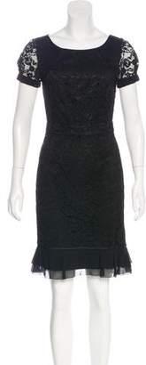 Tory Burch Lace Silk-Trimmed Dress