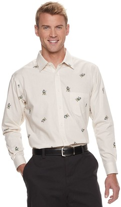 Haggar Men's Regular-Fit Button-Down Shirt