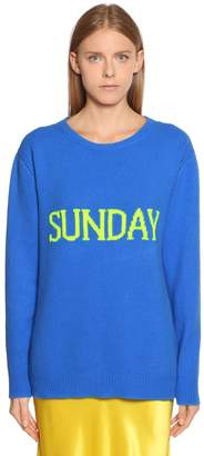Alberta Ferretti Sunday Wool & Cashmere Sweater