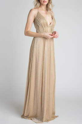 Minuet Metallic Ball Gown