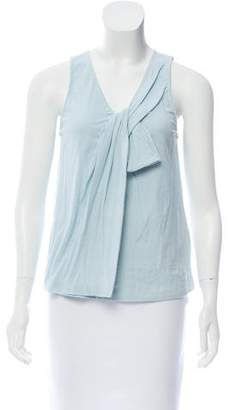 3.1 Phillip Lim Twist Front V-Neck Tank