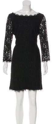 Diane von Furstenberg Lace Zip-Up Dress