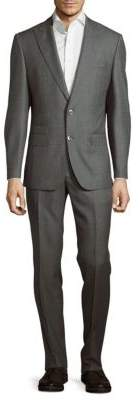 Hugo Boss Textured Wool-Blend Suit
