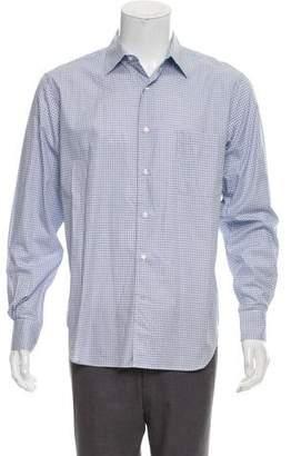 Loro Piana Plaid Dress Shirt
