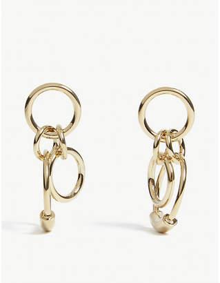 Chloé Reese mini circle drop earrings