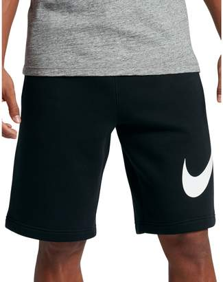 Nike Cotton-Blend Sportswear Shorts