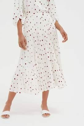 Parker Chinti & Field Pleated Skirt