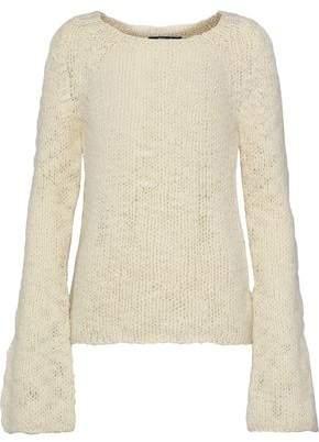 Derek Lam Open-Knit Wool Sweater